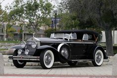 Phantom I Dual Cowl Phaeton by Brewster on a Springfield Chassis