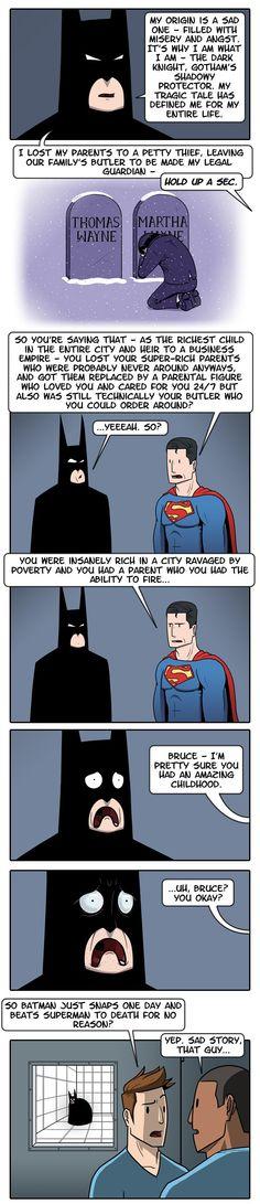 Batman's Tragic Origins