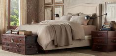 15 Wonderful Bedroom Styles By RH | Interior Design inspirations and articles