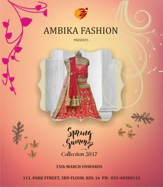 Spring/Summer Collection Unveiled  @ Ambika Fashion