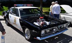 Plymouth Barracuda Sheriff's Pro Street Car