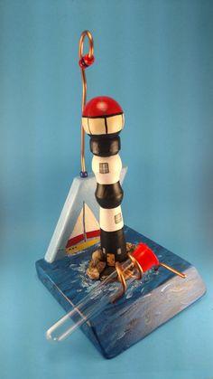 $30 Lighthouse Hummingbird Feeder