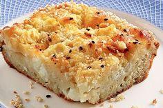 Μια υπέροχη, παραδοσιακή Ηπειρώτικη πίτα. Η κασόπιτα. Μια συνταγή για τη νοστιμότατη, εύκολη και γρήγορη πίτα 'της ανάγκης'... Χυλός με αλεύρι, αυγά, γάλα Cyprus Food, Brunch, Greek Recipes, Feta, Macaroni And Cheese, Tart, Food To Make, Food And Drink, Cooking Recipes