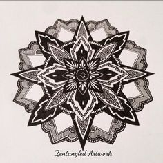 #mandala #zen #zentangle #linework #geometry #zenart