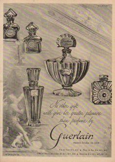 Guerlain... ah, les parfums de Guerlain...