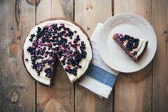 Blauwe bessen, Citroen & Amandel cake
