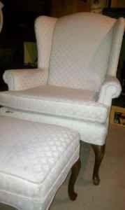 Chair & Ottoman - $40 (Gardner)