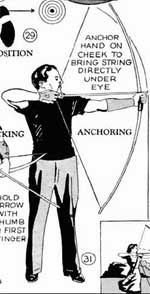 If you choose to buy or build a longbow, you need to know how to build you own arrows, metal arrow head and how to cut and apply fletching.  Arrows break.