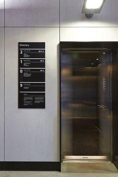 BuroNorth_Expertise_FedUniSEB_13_800x1200px Environmental Design, Environmental Graphics, Hospital Signage, Lift Design, Design Design, Navigation Design, Office Signage, Wayfinding Signs, Exterior Signage