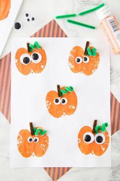 18 Easy Halloween Crafts for Toddlers - Quick Preschooler Halloween Ideas