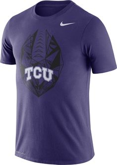 Nike Men s TCU Horned Frogs Purple Dri-FIT Football Icon T-Shirt f5d2eac6a