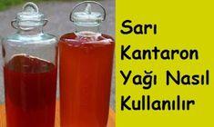 Sarı Kantaron Yağı Nasıl Kullanılır Wie Macht Man, Hot Sauce Bottles, Canning, Health, Sauces, Wordpress, Food, Website, Education