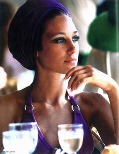 Marisa Berenson by Slim Aarons, 1968