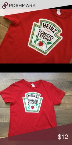 Heinz ketchup t-shirt Excellent condition. Worn just twice. Shirts & Tops Tees - Short Sleeve