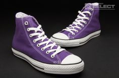 Converse Shoes - Chuck Taylor - All Stars - Speciality Hi - Converse  Trainers - Laker Purple d5a40bf943f0