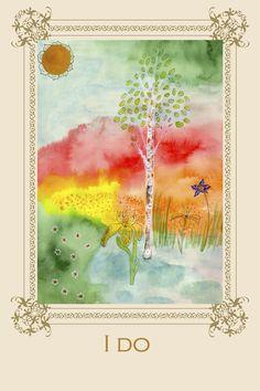 Tree Affirmation Card No 3 #birch #affirmation #yoga #chakra #meditation #positivevibes
