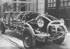 The Origins of Streamline Design in Cars
