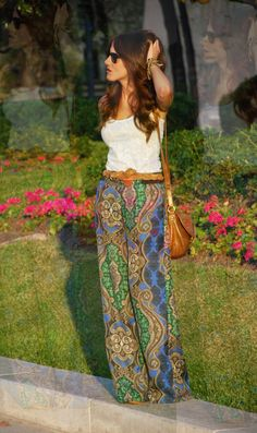 How to Wear Palazzo Pants...loving these pants...a must buy for the summer