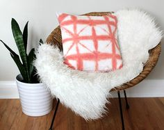 Sewing Pillows, Abstract Watercolor, Shibori, Pillow Covers, Hand Painted, Throw Pillows, Trending Outfits, Handmade Gifts, Inspiration