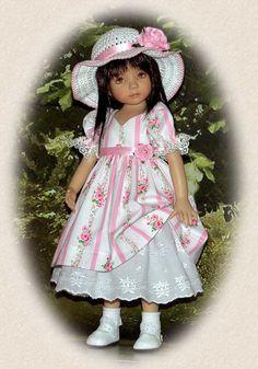 Rose Trellis | par Pumpernickle Doll Clothing