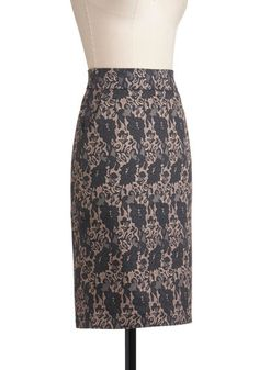 Secretary of Slate Skirt, #ModCloth