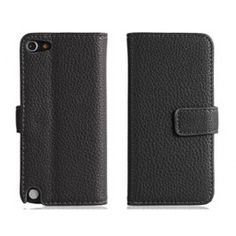 Corp Leather Black iPod Touch 5 Case