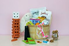 When the Easter Bunny comes hopping down the bunny trail, he's usually carrying all things sugar, sweet, and candy coated. The average Easter basket can quickly pile up calories–creme e…