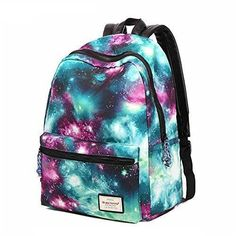 2017 women new fashion casual backpack new style nylon Galaxy printed school bags famous designer brand backpack for girls Little Girl Backpack, Backpack For Teens, Galaxy Backpack, Backpack Purse, Laptop Backpack, Rucksack Backpack, Laptop Bags, Cute Backpacks, Girl Backpacks
