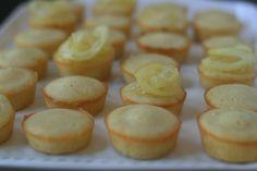 Week of Menus: Lemon Tea Cakes: For when I'm feeling girly