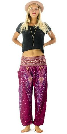 These are 7 items travelers insist on purchasing upon arrival in southeast asia: fisherman/harem pants, flip flops, denim shorts, straw fedoras, Thailand Outfit, Straw Fedora, Pants For Women, Clothes For Women, Unique Dresses, Travel Style, Travel Fashion, Asia Travel, Boho