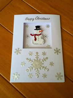 Die cuts and punchies used to make this card