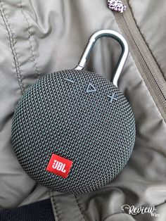 This speaker may be small as it fits in the palm of my hand, it also packs a whole lotta sound! This JBL Clip 3 Bluetooth speaker is not only rugged. Wireless Speakers For Home, Small Speakers, Music Speakers, Gadgets And Gizmos, Electronics Gadgets, Tech Gadgets, Loudspeaker, Audiophile, Mp3 Player