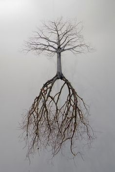The tree that would reach it's branches to heaven must send it's roots to hell. Nietzsche.
