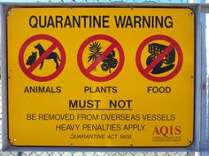 Quarantine in Australia