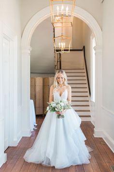 Hayley Paige Bijou such a romantic + classic gown