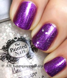 The Painted Nail Legendary Lavender and Moon Drops Top Coat.  This is on my get list.