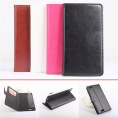 Flip PU Leather Protective Card Wallet Stand Case For Oukitel K6000