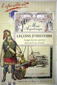 Leçons d'histoire.  Images de nos ancêtres dans les livres d'école.  2003  http://www.argentomagus.fr