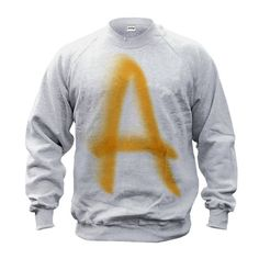 Why not become property of Negan with our Prisoner A Sweater.  It was inspired by the sweatshirt Daryl Dixon wears are Negans camp in The Walking Dead