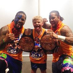 Crime Time World Tour, WWE tag Team Champions The Usos Grants First Make-A-Wish - http://www.wrestlesite.com/wwe/crime-time-world-tour-wwe-tag-team-champions-usos-grants-first-make-wish/