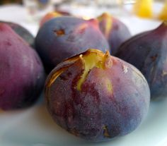 Purple figs from Anafi island, Greece