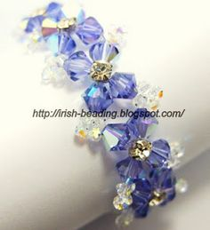 Lots of crystal bracelet patterns