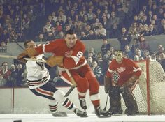 Floyd Smith and Terry Sawchuk, 1963