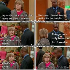 The Suite Life of Zack and Cody<< when suite life predicts The addictiveness of Pokemon go. Movie Quotes, Funny Quotes, Tv Quotes, Zack Y Cody, Zack And Cody Funny, Old Disney Shows, Sprouse Bros, Disney Channel Shows, Look Man