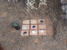 Geocaching with a game of Noughts and Crosses. GC4MQE8