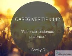 Caregiver Tip #142