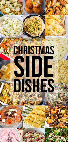 60 Best Christmas Side Dishes | YellowBlissRoad.com