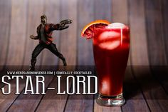Star-Lord | Comically-Cocktailed |#GOTG #StarLord #GuardiansOfTheGalaxy   It's absolutely delish!