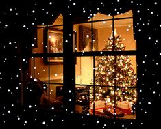 Christmas View through the Window christmas christmas lights christmas tree christmas pictures christmas gifs christmas decoration Cosy Christmas, Christmas Scenes, Merry Christmas And Happy New Year, Christmas Music, Beautiful Christmas, Christmas Lights, Christmas Holidays, Christmas Decorations, Christmas Wonderland