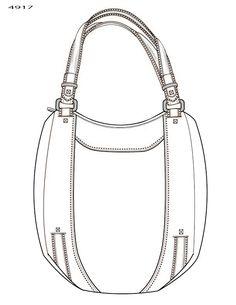 Handbag Illustration by Kim Honeycutt at Coroflot.com